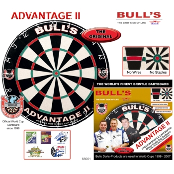 Мишень дартс Bulls Advantage II Bristle Board
