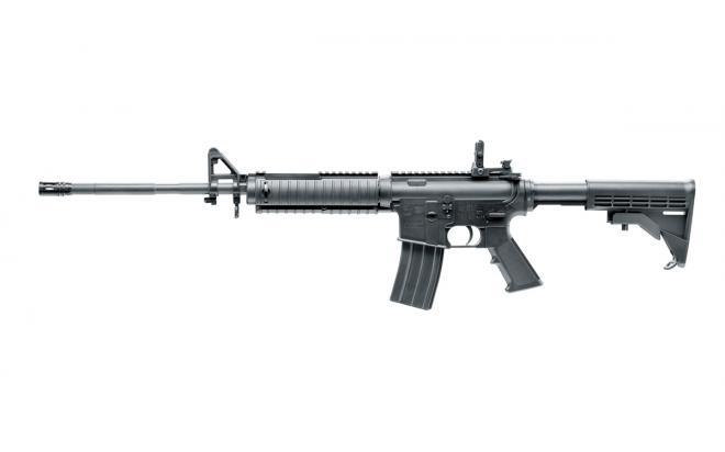Пневматическая винтовка Umarex COLT M4 4,5 мм (переломка, пластик)