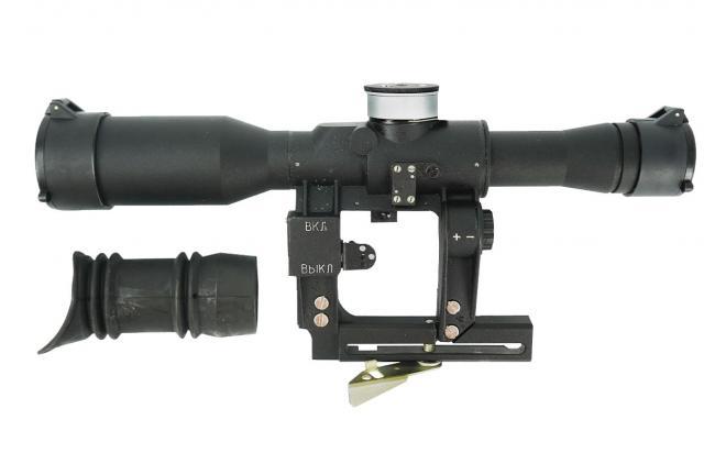 Оптический прицел ПОСП 6х42В Pro для карабинов Тигр, Сайга, Вепрь