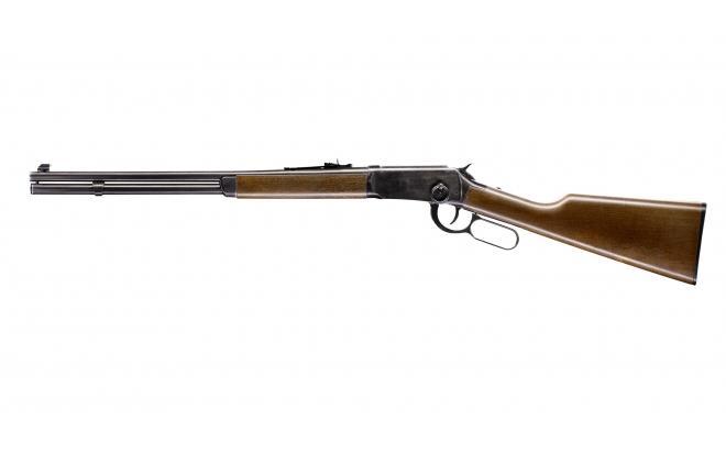 Пневматическая винтовка Umarex Cowboy Rifle 4,5 мм (хром, скоба Генри, ВВ)
