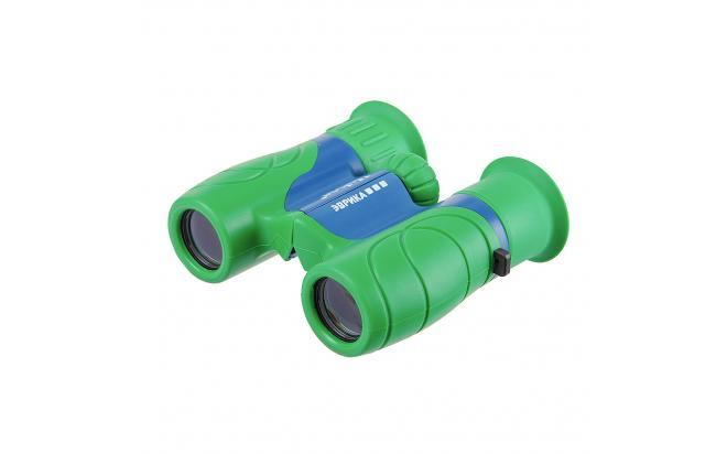 Бинокль детский Veber Эврика 6x21 G/B зеленый/синий