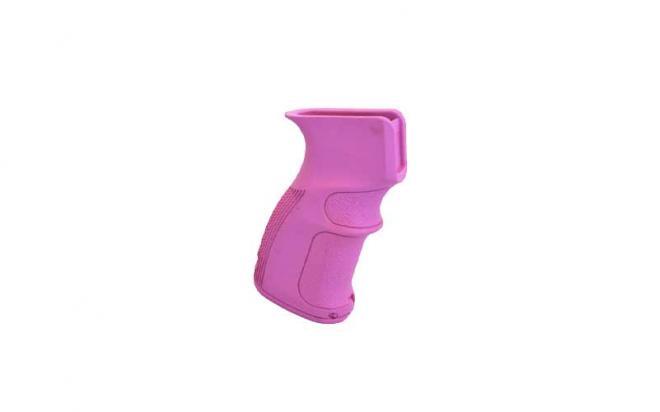 Пистолетная рукоятка Fab-Defense для АК47, АК74, Сайга (fx-ag47pink, полимерная, розовая)