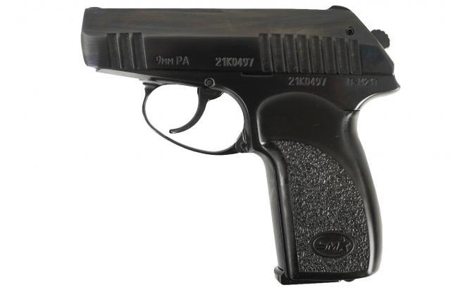 Травматический пистолет П-М21Т 9 мм Р.А. (полированный)