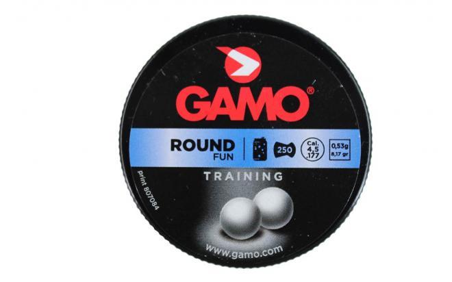 Пули пневматические GAMO Round 4,5 мм 0,53 грамма (250 шт.)