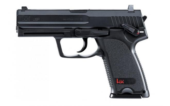 Пневматический пистолет Umarex Heckler and Koch USP 4,5 мм
