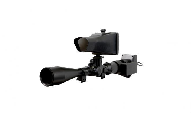 Цифровая ночная насадка NiteSite  (день-ночь 01405-SPOTTERX-0019,16X zoom, 550 метров, 5 IR 400 метров)