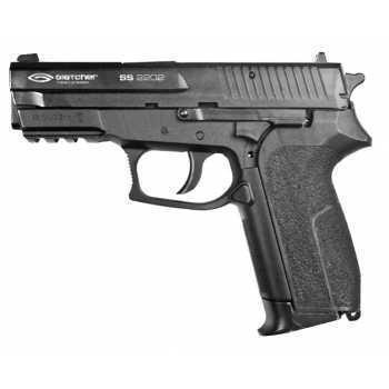 Пневматический пистолет Gletcher SS 2202 металл 4,5 мм