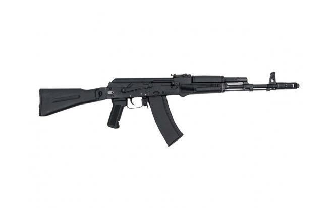 Страйкбольная модель автомата АК-74М GK74M TGK-74M-FOD-BNB-NCM 140-150 Black