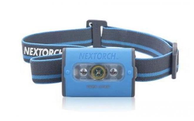 Налобный фонарь NexTORCH Trek Star, синий (140 люмен, 60м)