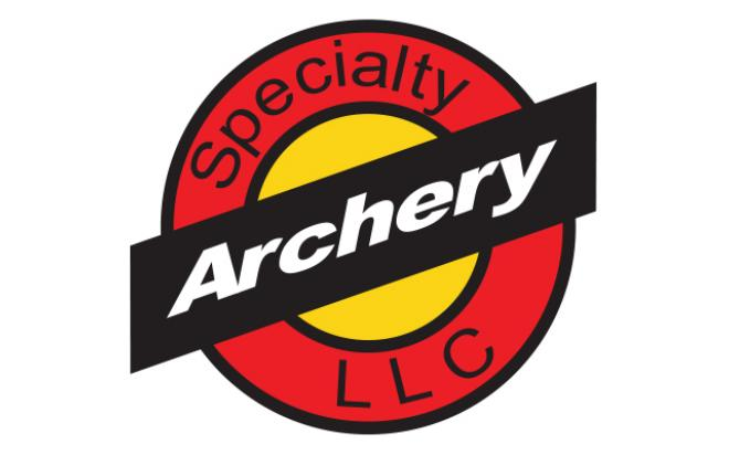 Наклейка  для скопа Specialty Archery (цвет оранжевый)