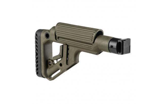 Складной приклад Fab-Defense для САЙГИ, AK 74M, АК сотые серии (fx-uassaigag)