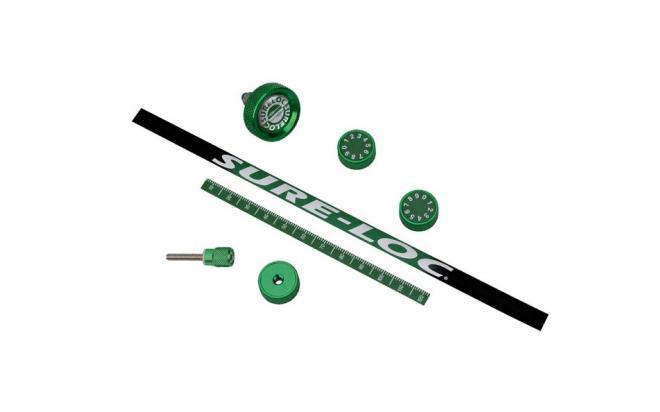 Комплект цветных накладок для прицела Field Logic (зеленые)