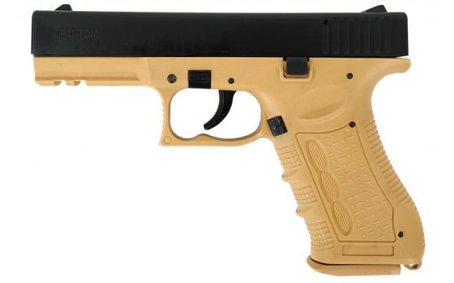 Травматический пистолет Fantom 9 мм песочный