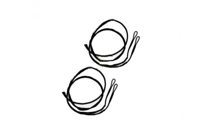 Контрольный кабель для лука PSE archery 38 1-2
