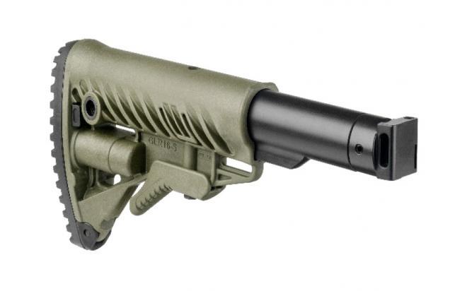 Телескопический складной приклад Fab-Defense для САЙГИ, AK 74M, АК сотые серии (fx-m4saigag)