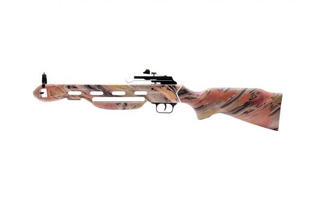 Набор для рекурсивного арбалета Remington Jaeger, осенний камуфляж (приклад, тетива, стремя, крепеж, стрелы)