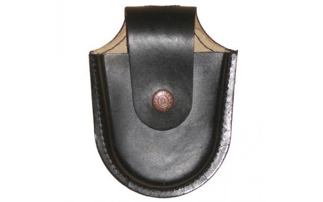 Чехол Holster под наручники БРС (кожа, коричневый)
