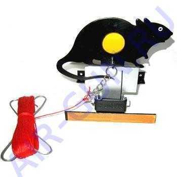 Мишень металлическая Крыса