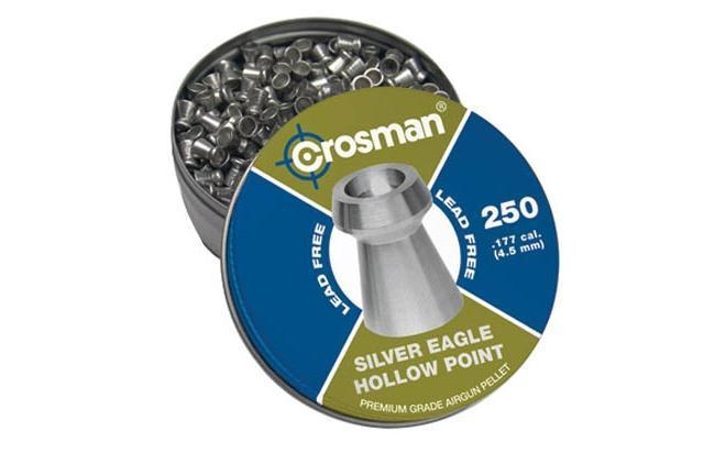 Пули пневматические Crosman Silver Eagle HP 4,5 мм 4 грана (250 шт.)