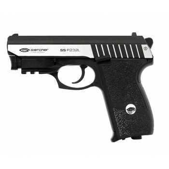 Пневматический пистолет Gletcher SS P232L 4,5 мм