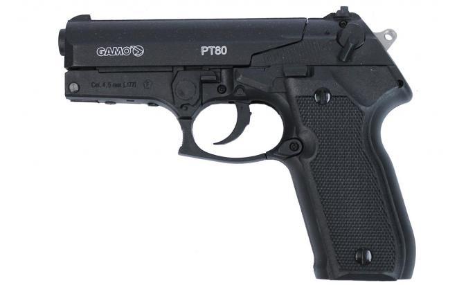 Пневматический пистолет Gamo PT-80 4,5 мм