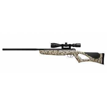 Пневматическая винтовка Crosman Rem NPSS 4,5 мм (Nitro, камуфляж, переломка, прицел 3-9x40)