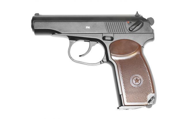 Пневматический пистолет Gletcher PM 4,5 мм