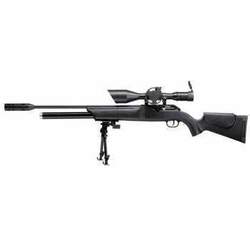Пневматическая винтовка Umarex Walther 1250 Dominator FT PCP 4,5 мм (пласт,сошка,прицел Walther FT 8-32x56)