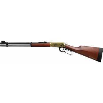Пневматическая винтовка Umarex Walther Lever Action Gold 4,5 мм (газобал, дерево)