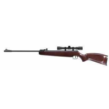 Пневматическая винтовка Umarex Ruger Air Hawk 4,5 мм (переломка, дерево, прицел Ruger 4x32)