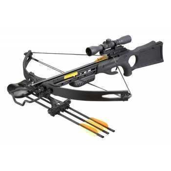 Арбалет блочный Гепард черный scope 43 кг (Sniper)