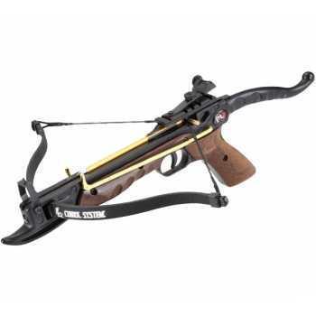 Арбалет-пистолет Скаут выполненный под дерево (Cobra)