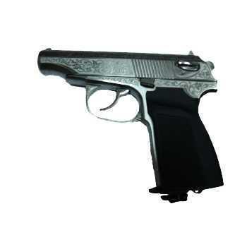 Пневматический пистолет МР 654К в подарочном исполнении (лазерная гравировка,кейс) 4,5 мм