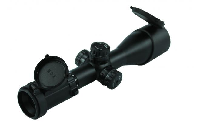 Оптический прицел Leapers 3-12x44  Accushot Compact 30 мм SWAT AO Mil-dot с подсв. (36 цв.) (SCP3-UM312AOIEW)