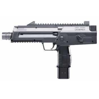 Пневматический пистолет Umarex Steel Storm black чёрный с чёрной рукояткой 4,5 мм