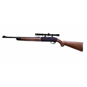 Пневматическая винтовка Crosman 2100 B 4,5 мм (прицел 3-7x28)