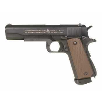 Пистолет KJW CОLT M1911 A1 CO2 Blowback металл (180508)