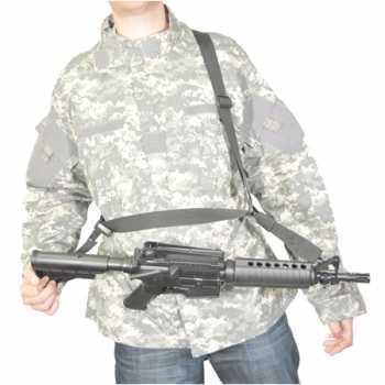 Тактический трехточечный ремень SWISS ARMS чёрный