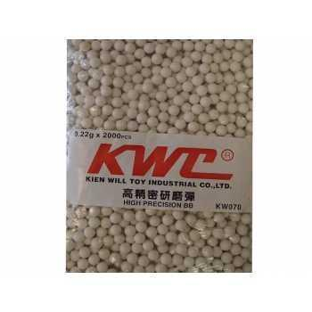 Шары KWS 6 мм 0,22 грамма (2000 шт.) (39033)
