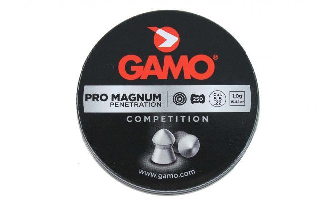 Пули пневматические GAMO Pro Magnum 5,5 мм 1 грамм (250 шт.)