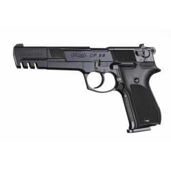 Пневматический пистолет вальтер Umarex Walther CP88 Competition black 4,5 мм