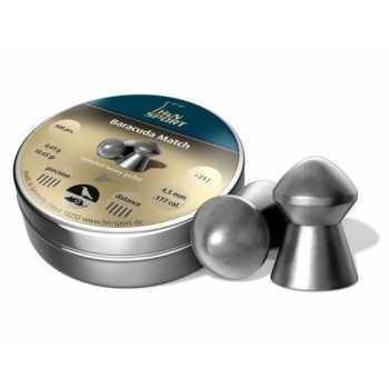 Пули пневматические H&N Baracuda Match 4,50 мм 0,69 грамм (400 шт.)