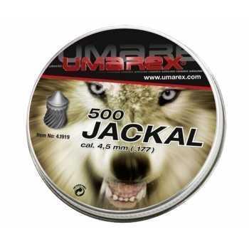 Пули пневматические Umarex Jackal 4,5 мм 0,53 грамма (500 шт.)