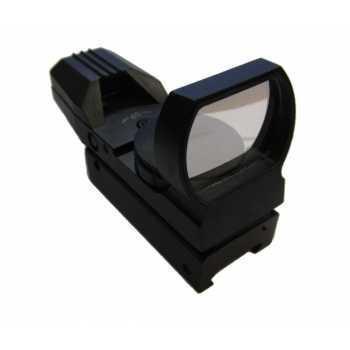 Коллиматорный прицел Target Optic 1x33 открытого типа на Weaver