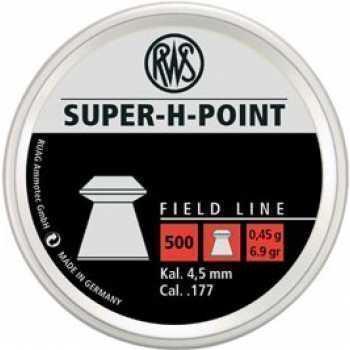Пули пневматические RWS Super-H-Point 4,5 мм 0,45 грамма (500 шт.)