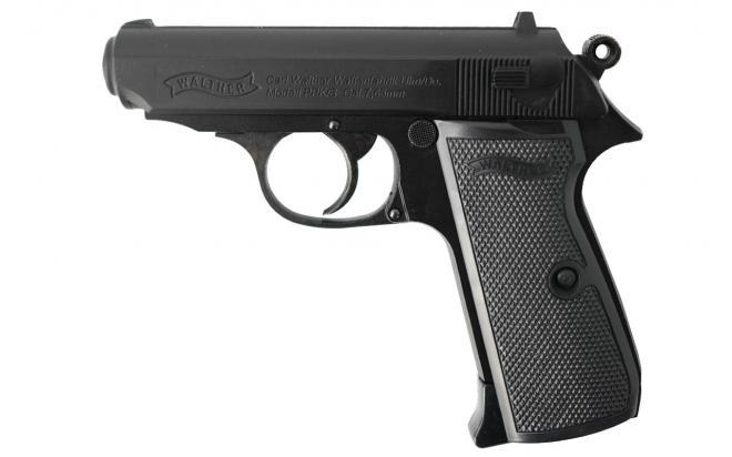 Пневматический пистолет вальтер Umarex Walther PPK/S 4,5 мм