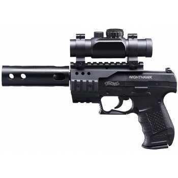 Пневматический пистолет вальтер Umarex Walther NightHawk 4,5 мм