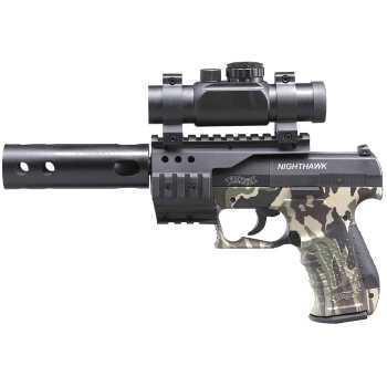 Пневматический пистолет вальтер Umarex Walther NightHawk (камуфляж) 4,5 мм