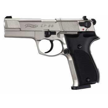 Пневматический пистолет вальтер Umarex Walther CP 88 Никель 4,5 мм