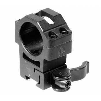 Кольца Leapers UGT 25,4 мм быстросъемные на 11 мм с рычажным зажимом, высокие